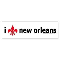 Love New Orleans! Bumper Bumper Sticker