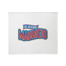 The Incredible Mauricio Throw Blanket