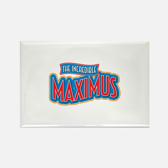 The Incredible Maximus Rectangle Magnet