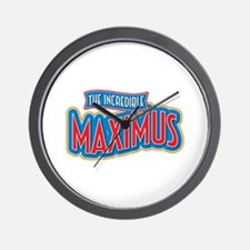 The Incredible Maximus Wall Clock