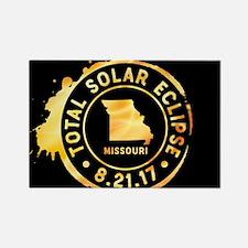 Eclipse Missouri Rectangle Magnet