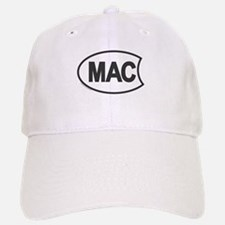 Oval Mac Baseball Baseball Cap