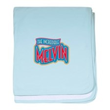 The Incredible Melvin baby blanket