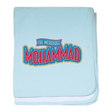 The Incredible Mohammad baby blanket