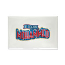 The Incredible Mohammed Rectangle Magnet