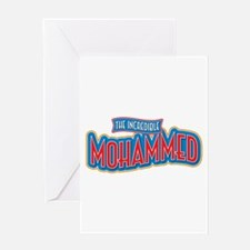 The Incredible Mohammed Greeting Card