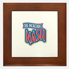 The Incredible Nash Framed Tile