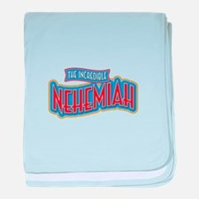 The Incredible Nehemiah baby blanket