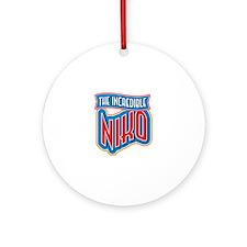 The Incredible Niko Ornament (Round)