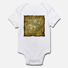 Celtic Letter S Infant Bodysuit