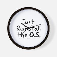 Just Reinstall... Wall Clock