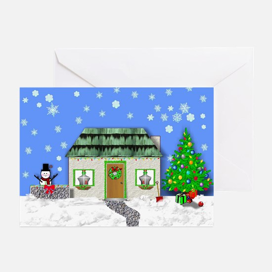 HOME FOR CHRISTMAS Greeting Cards (Pk of 10)