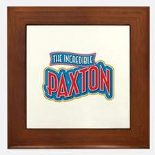 The Incredible Paxton Framed Tile