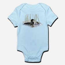 Loon and baby Body Suit