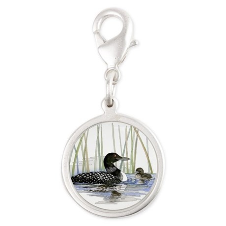 Loon and baby Charms