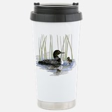 Loon and baby Travel Mug