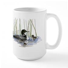 Loon and baby Mug