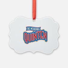 The Incredible Quinten Ornament