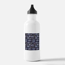 Denim Clouds Water Bottle
