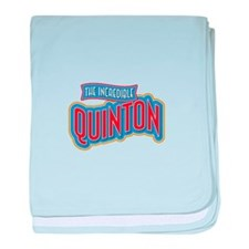 The Incredible Quinton baby blanket
