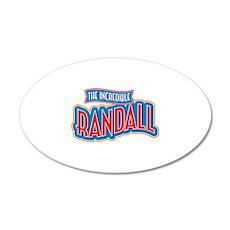 The Incredible Randall Wall Decal