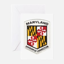 Maryland Correction Greeting Cards (Pk of 10)