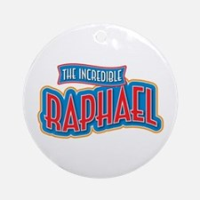 The Incredible Raphael Ornament (Round)
