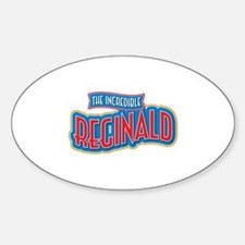 The Incredible Reginald Decal