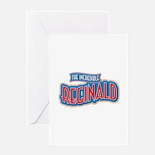 The Incredible Reginald Greeting Card