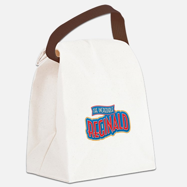 The Incredible Reginald Canvas Lunch Bag