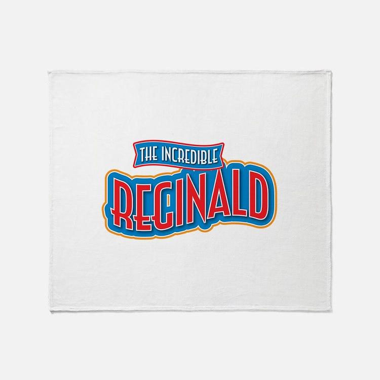 The Incredible Reginald Throw Blanket