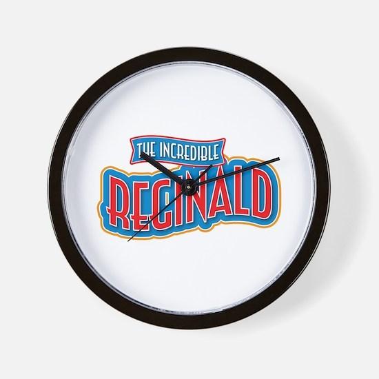 The Incredible Reginald Wall Clock