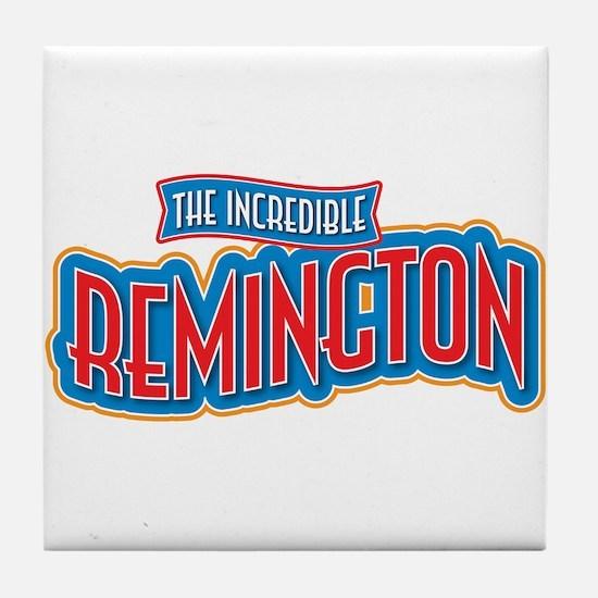 The Incredible Remington Tile Coaster