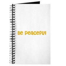 Be Peaceful Journal