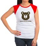 Bears: Godless killing machin Women's Cap Sleeve T