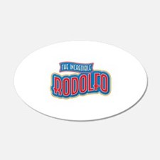 The Incredible Rodolfo Wall Decal