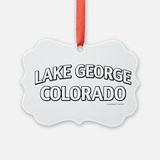 Lake George Colorado Ornament