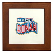 The Incredible Ronan Framed Tile