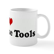 I Love Database Tools Small Mug