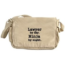 Lawyer by day Messenger Bag