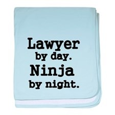 Lawyer by day baby blanket