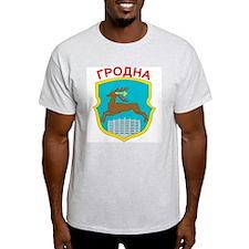 Hrodna Ash Grey T-Shirt