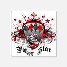Poker Star Sticker