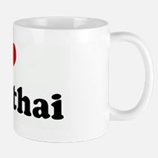 I Love muay thai Mug