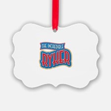 The Incredible Ryker Ornament