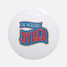The Incredible Ryker Ornament (Round)