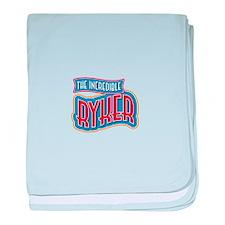 The Incredible Ryker baby blanket