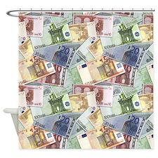 Euro Trip Shower Curtain