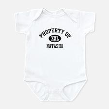 Property of Natasha Infant Bodysuit
