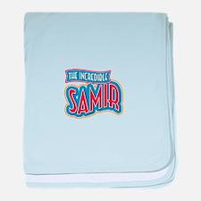 The Incredible Samir baby blanket